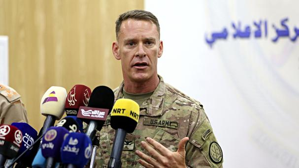 US Army Colonel Ryan Dillon said Islamic State forces are