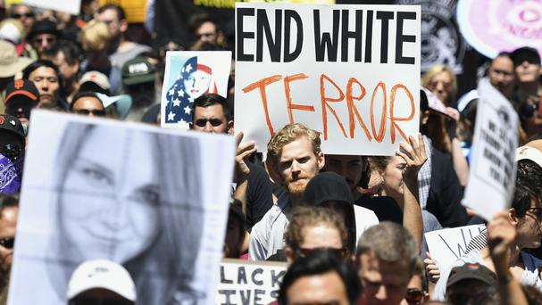 Anti-fascist protesters make their point in San Francisco (AP)