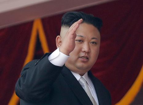 North Korean leader Kim Jong Un. Photo: AP