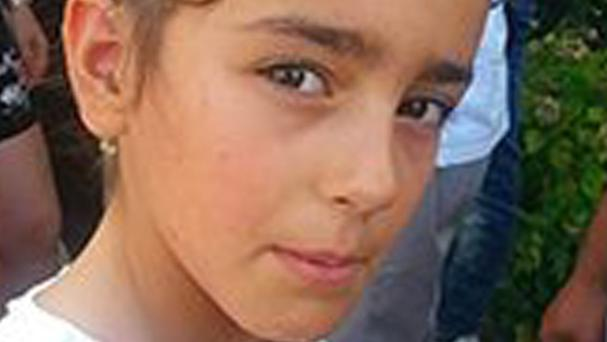 French police are widening their search for a nine-year-old girl who disappeared during a wedding in the Alps. (AP)
