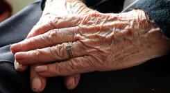 Many people suffering from dementia have poor eating habits and may forget meals, new research shows. Stock Photo: PA
