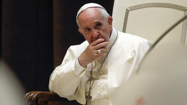 The move comes ahead of Francis' visit this week (AP)