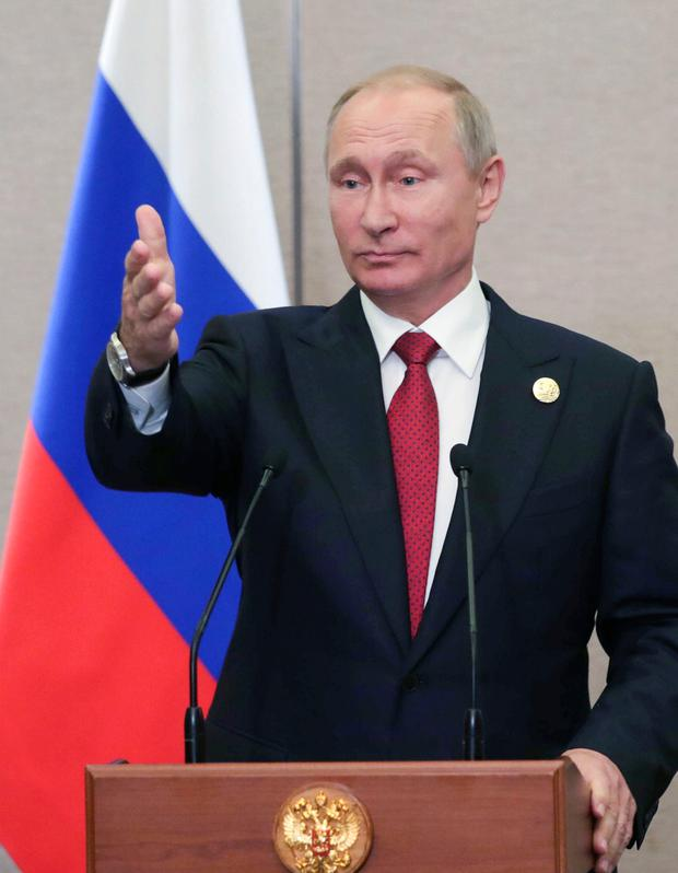 Putin says he believes U.S.  willing to defuse Korea tensions
