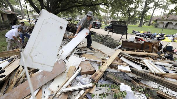Harvey caused huge amounts of damage (AP)