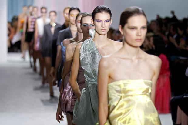 The firms say their new charter will protect models' well-being. Photo: REUTERS