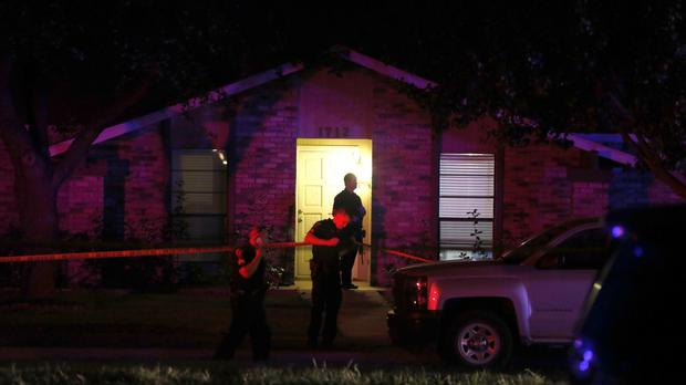 Authorities in North Texas say several people are dead, including the suspect, after a shooting in Plano. (Vernon Bryant/The Dallas Morning News/AP)