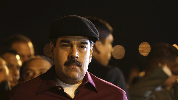 Venezuela's president Nicolas Maduro said he has accepted the talks invitation from the Dominican Republic (AP)