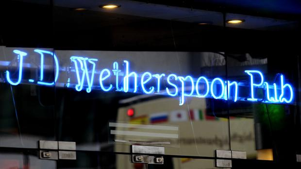 JD Wetherspoon investment