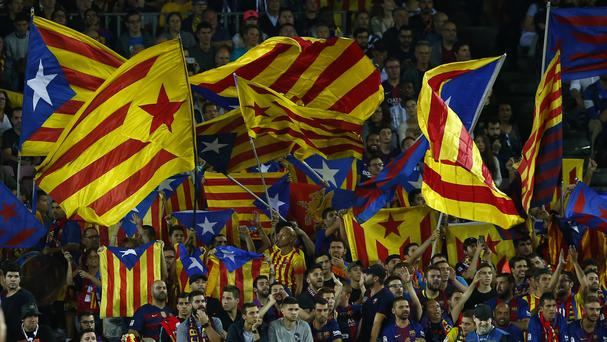 Spain's north-eastern region of Catalonia wants an independence referendum (AP)