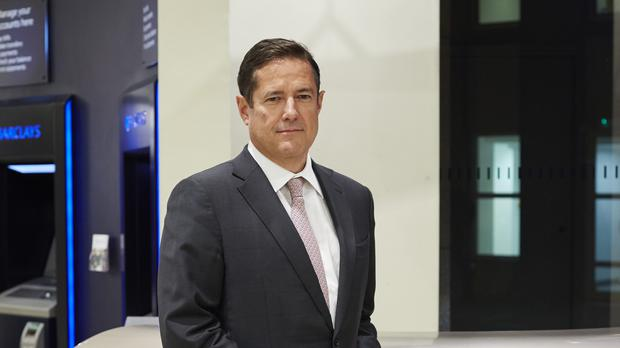 Barclays chief executive Jes Staley