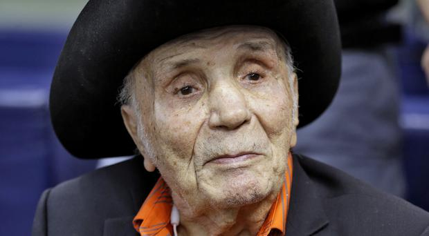 LaMotta was portrayed by Robert De Niro in the Oscar-winning 1980 movie Raging Bull (AP)