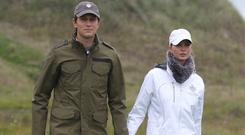 Jared Kushner with his wife Ivanka, the daughter of Donald Trump