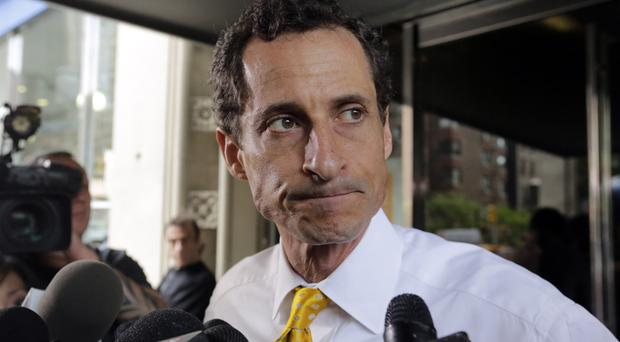 Anthony Weiner sent obscene material to a 15-year-old girl in 2016 (AP)