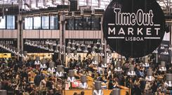 Picture of the Lisbon Time Out food market