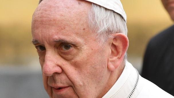 Pope Francis has been accused of heresy