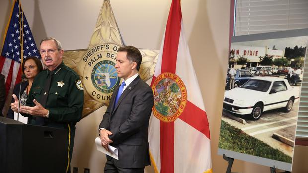 County Sheriff Ric Bradshaw speaks during a news conference to announce the arrest of Sheila Keen Warren (AP)