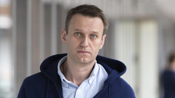 File photo of Russian opposition leader Alexei Navalny (AP)