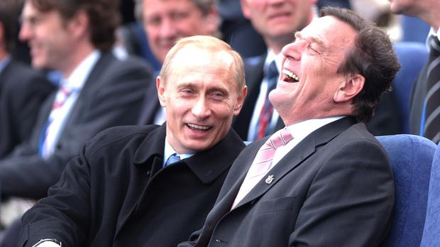Ex German Chancellor Gerhard Schroeder Named As Chairman Of Russian