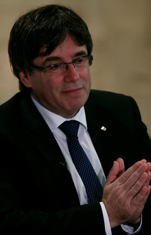 Catalan President Carles Puigdemont. Photo: Reuters