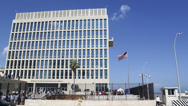 Specific attacks are said to have harmed US diplomats (AP)