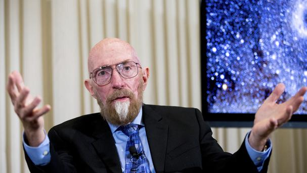 Kip Thorne, one of the joint winners of the physics prize