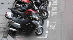 A group of motorcyclists from a club called the Bad Examples who were in the vicinity saw what was happening and followed the attacker . Stock photo