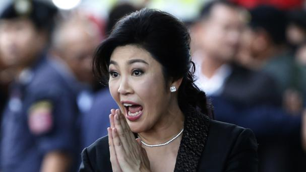 File photo of Yingluck Shinawatra (AP)
