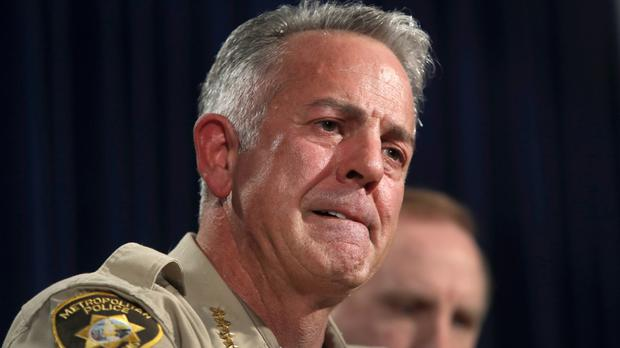 Joe Lombardo said investigators were looking to see whether Stephen Paddock planned other attacks