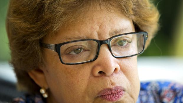 Sandra Honore, a diplomat from Trinidad and Tobago, has served since July 2013 as the head of the UN mission in Haiti known as MINUSTAH. (AP)