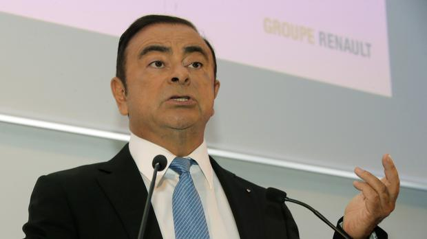 Renault Group chief executive Carlos Ghosn (AP Photo/Michel Euler)
