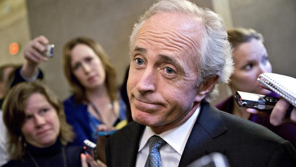 Senator Bob Corker and the president have traded barbs on Twitter.