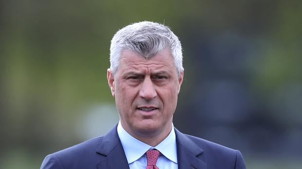 Hashim Thaci is the president of Kosovo