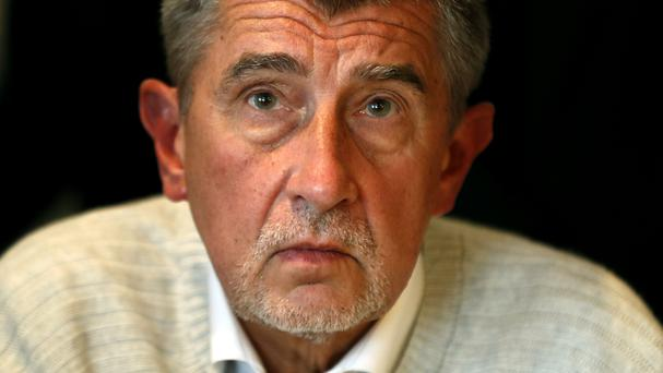 Andrej Babis is tipped to be the next Czech Republic's next prime minister (AP)