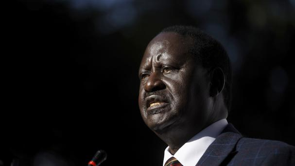 Challenger Raila Odinga has withdrawn from the poll (AP)