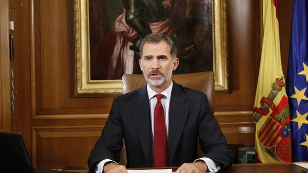 King Felipe VI of Spain is to preside over the national day parade in Madrid (Spain's Royal Palace via AP)
