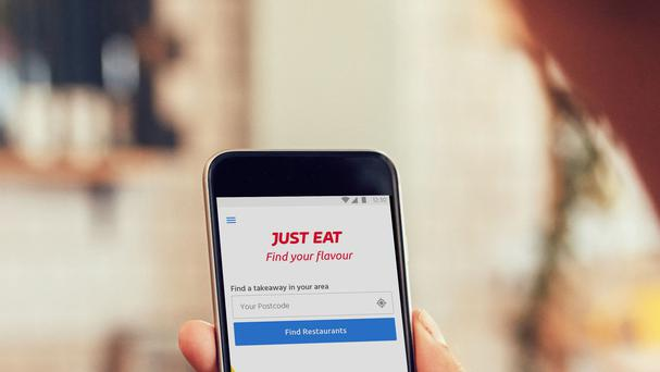 The Just Eat app