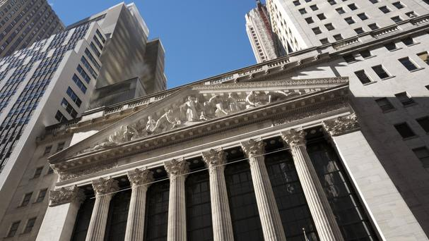 US stocks retreated on Thursday from record highs (AP Photo/Mark Lennihan, File)