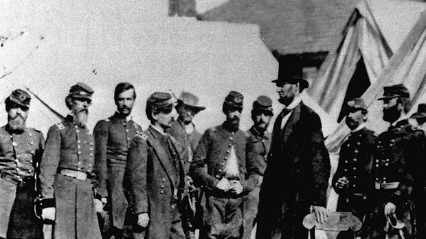 President Abraham Lincoln issues the Emancipation Proclamation, given slaves their freedom (AP)