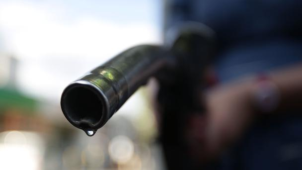 Picture of petrol pump as inflation looks set to hit a five-year high