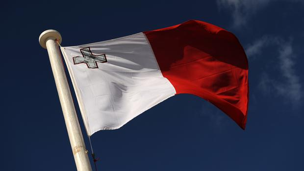 Stock picture of Malta's flag
