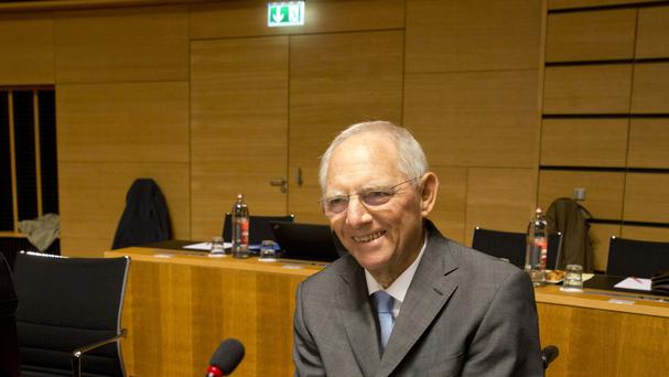 Wolfgang Schaeuble is leaving the finance ministry (AP)