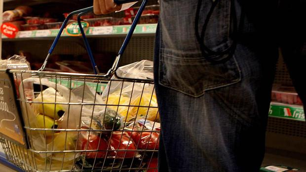 Picture of a person shopping, as inflation rises to 3% in September (PA)
