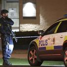Swedish police have not said what caused Wednesday's pre-dawn blast