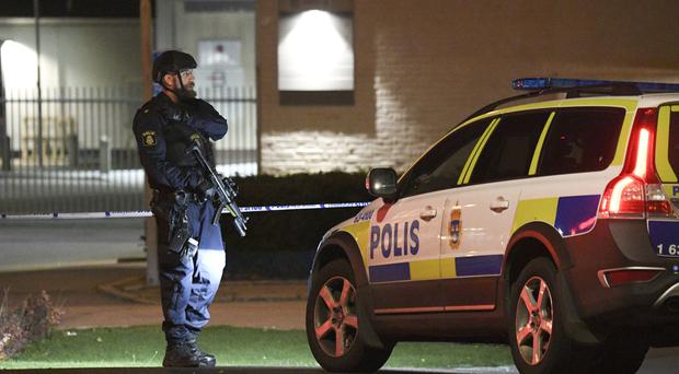 Swedish police station damaged in powerful explosion