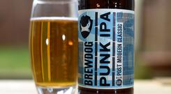 A bottle of BrewDog beer (PA)