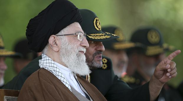 Ayatollah Ali Khamenei wants to leverage European business interests into protecting the nuclear deal (Office of the Iranian Supreme Leader/AP)