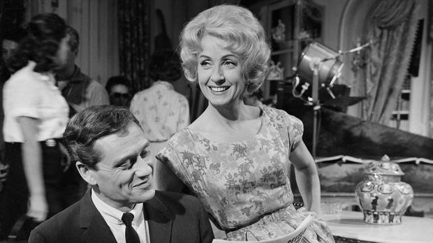Danielle Darrieux, pictured with Mel Ferrer, appeared in dozens of plays and more than 100 films during her long career (AP)