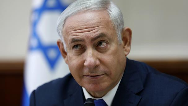 Benjamin Netanyahu said this week there would be no talks with the Palestinians unless Hamas agrees to the conditions (AP)