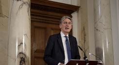 Chancellor Philip Hammond (PA)
