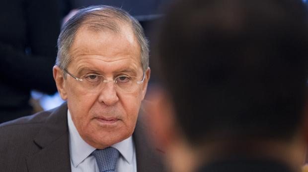 The Russian foreign minister Sergey Lavrov has warned the US over 'one-sided' changes to the landmark accord (AP)